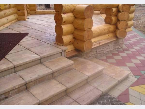 Тротуарная плитка, бордюры и строительные блоки.