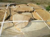 Камень пластушка Цветная песчаник натуральный от ИП Шеверев А.С.