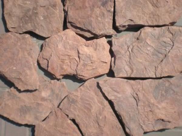Камень песчаник Красный Дракон обожженный