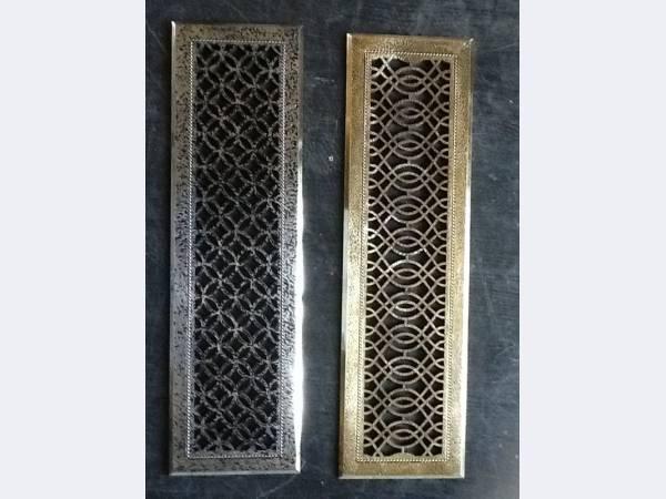 декоративные металлические решетки купить
