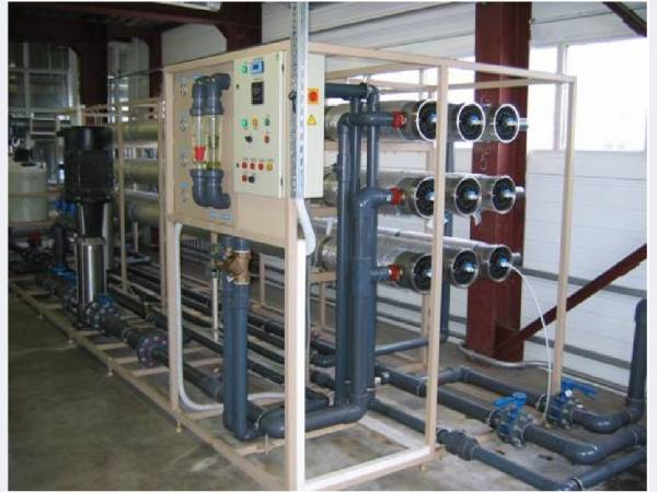 Водоподготовительная установка 1 м3/ч - 100 м3/ч  Сокол