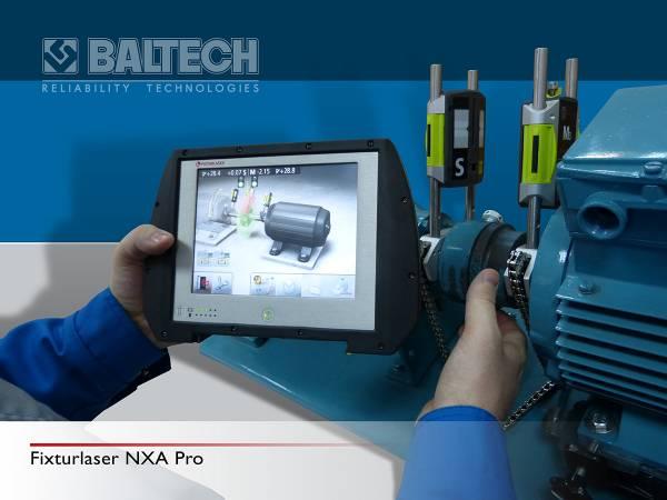 Fixturlaser NXA Pro  – центровка механизмов, центровка двигателя