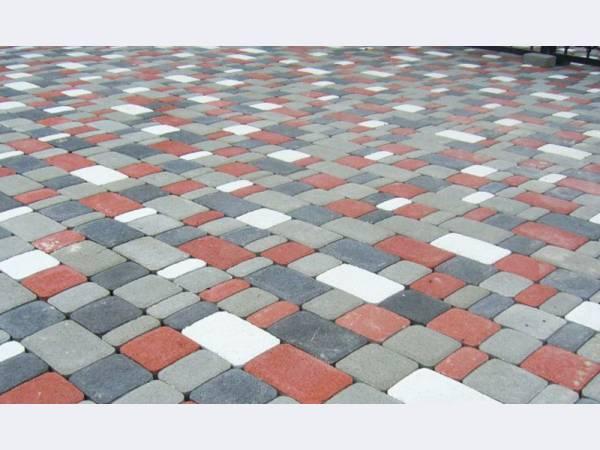 Тротуарная плитка Брук толщиной в 60мм.