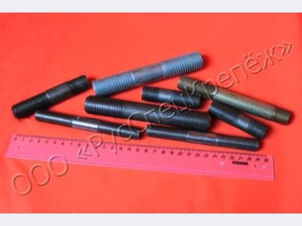 Шпилька резьбовая по ОСТ 26-2040-96, ГОСТ 9066, полнорезьбовая шпилька