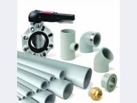 Кислотостойкие трубы ХПВХ для промышленных систем