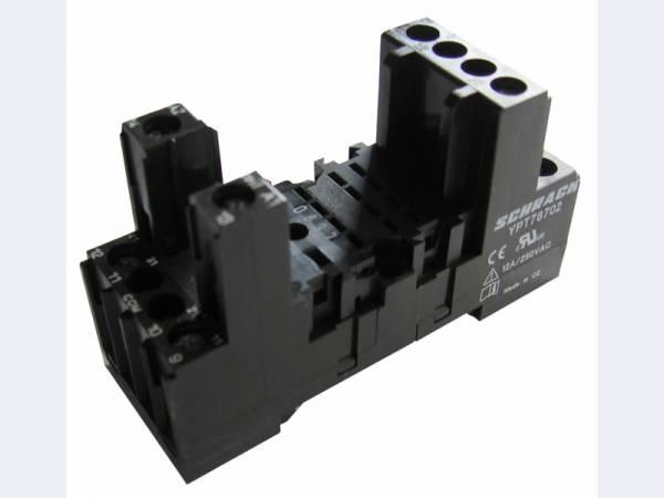 Колодка для монтажа реле  на DIN-рейку YPT78704 Schrack technik