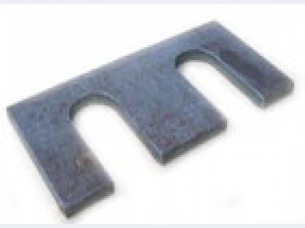 Планки упорные, прижимные для рельс КР70/80, Р65, Р50, Р43, Р24.