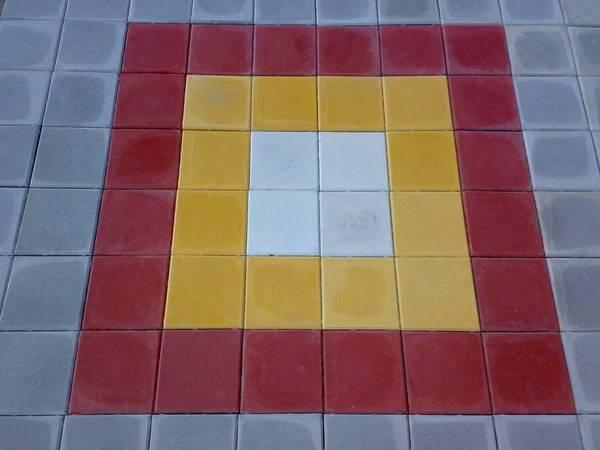 Тротуарная плитка 30х30, 33х33, 35х35, 40х40, 50х50.