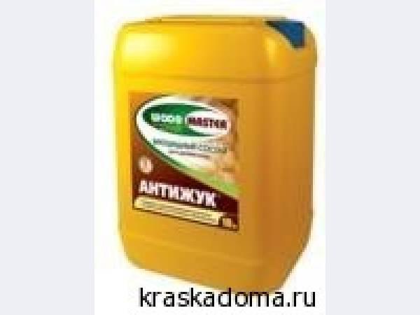 Антижук (РОГНЕДА) биоцидный антисептический состав для древесины.