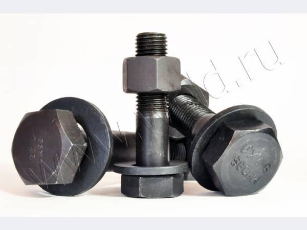 Болт высокопрочный М16х60 ГОСТ Р 52644-2006 класс прочности 10,9