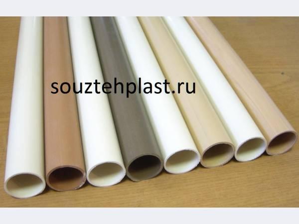 Трубы гладкие жесткие из ПВХ для монолитного строительства, электротех