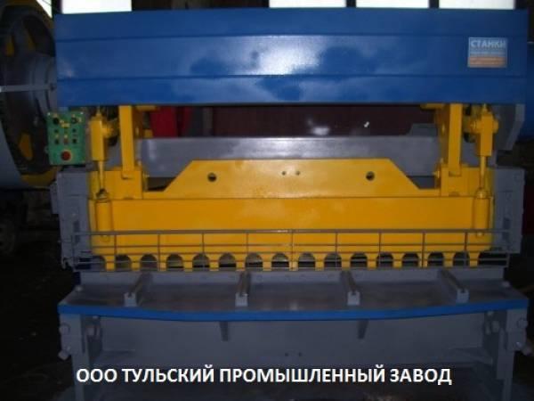 Н478 ножницы гильотинные после ремонта 16х2200мм.