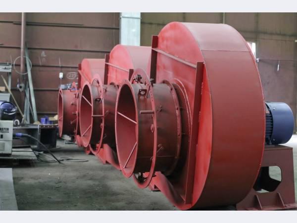 Дымосос ДН №8 15,0 кВт 1500 об/мин (Левое, 90)