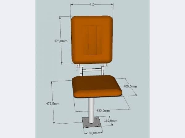 Кресло крановщика для крана Альбатрос,Ганц,Сокол