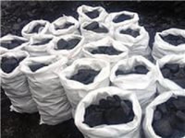 Фасовка угля в мешки