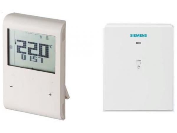 Беспроводной термостат с таймером RDE100.1RF (RDE100.1RFS)