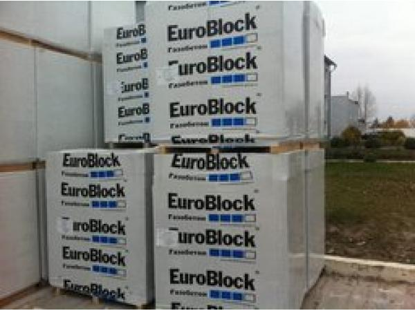 Газосиликатные блоки Евроблок по низкой цене в Домодедове
