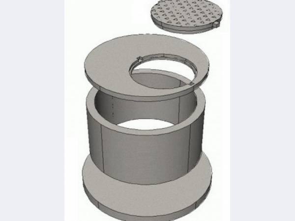 Кольца бетонные с пазом для септика, колодца в калининграде