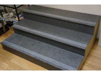 Ступени из керамогранита 130см для облицовки лестниц
