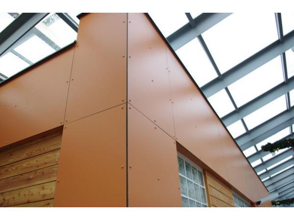 Фасадный пластик Hpl декоративный, панели Hpl архитектурные KronoPlan