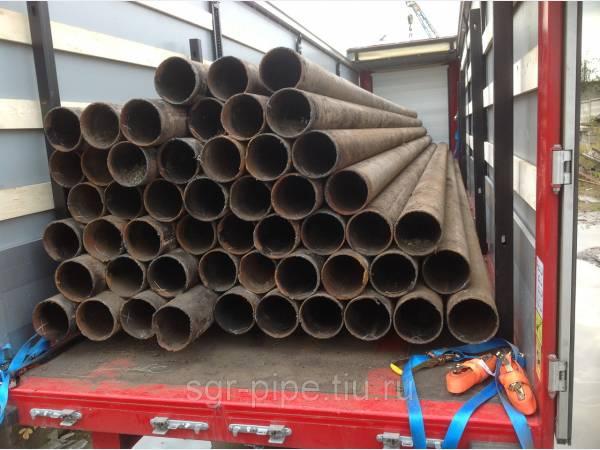 Сказочная труба б/у 219х6, объем 200 тонн!