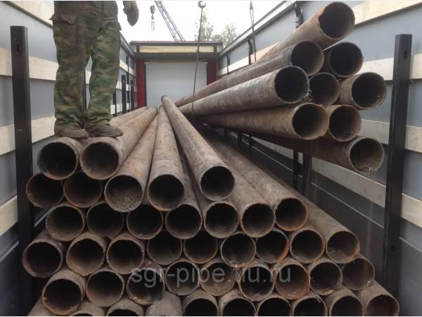 Сказочная труба б/у 219х6 мм, объем 200 тонн!