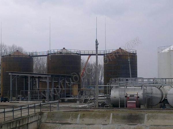 Емкости, резервуары вертикальные и горизонтальные,стальные, подземные