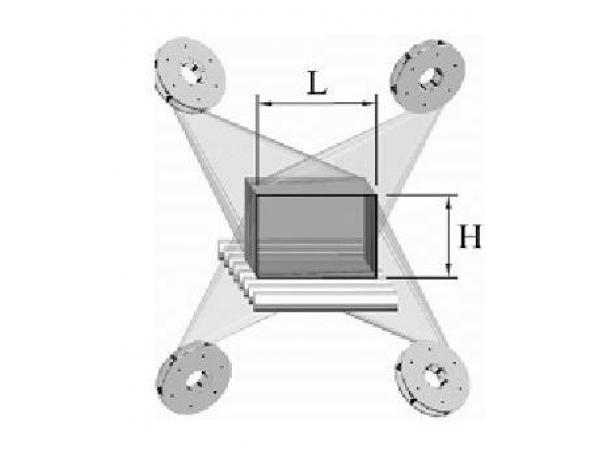 Дробеметная установка проходного типа для очистки труб