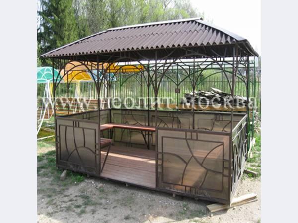 Под заказ металлические беседки, мебель для дачи.