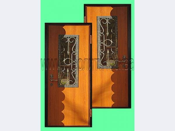 металлическая защитная дверь для под