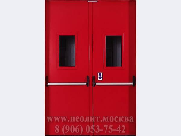 производители металлических огнеупорных дверей