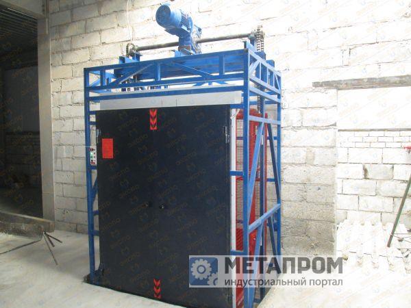 Грузовой подъемник в готовую лифтовую шахту