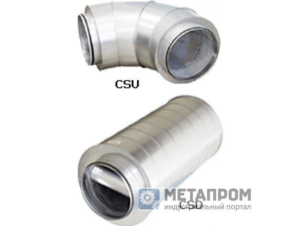 Новые шумоглушители CSU и CSD