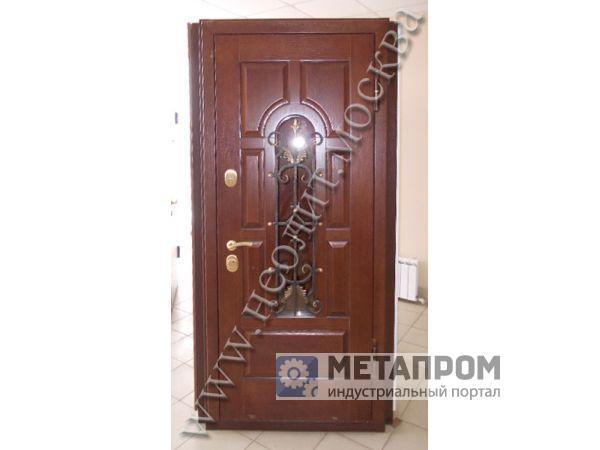 изготовить железную дверь дешево