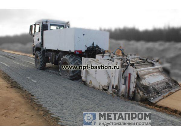 Оборудование и услуги по укреплению грунта