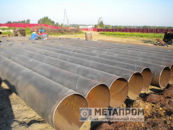Труба б/у от 159-1420мм. от 17000 руб/тонну
