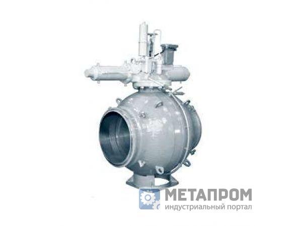 Краны шаровые DN 400, 500 мм PN 8.0, 10.0, 12.5, 16.0 МПа