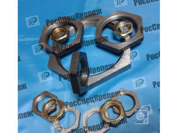 Контргайка стальная Ду20 ГОСТ 8968-75