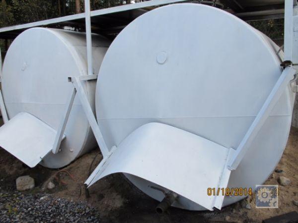 Резервуары металлические 10м3 емкости б/у
