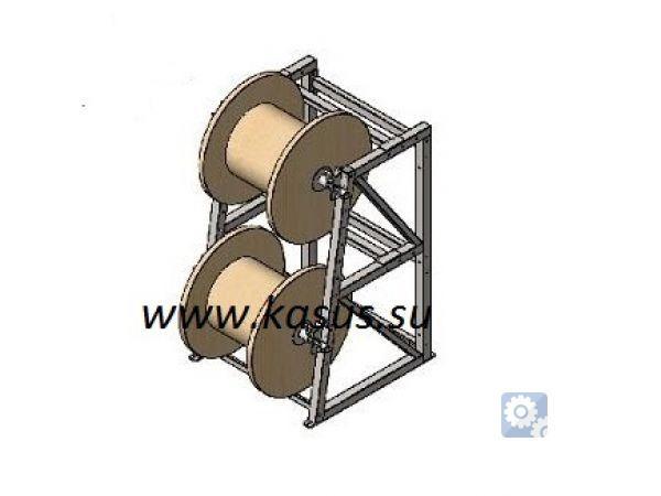 Стеллаж для кабельных бухт СКБ 6-0,5-30