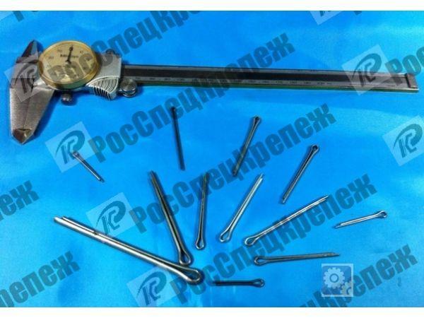 Шплинт стальной оцинкованный 6,3х25 ГОСТ 397-7