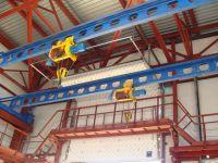 Кран мостовой опорный электрический (кран-балка) г/п 2 т. ш/п 13,5 м.