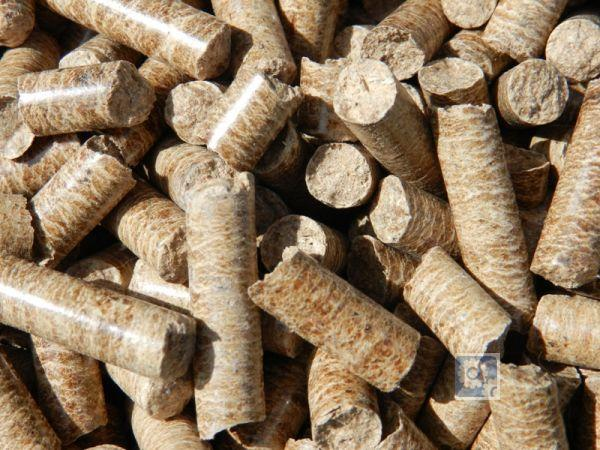 Топливные древесные гранулы - пеллеты