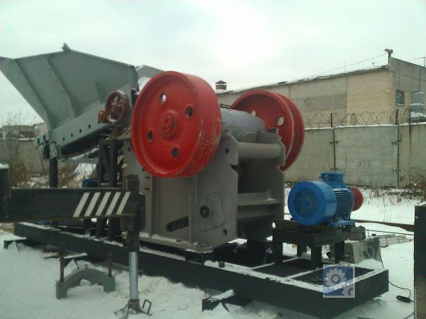 Дробильно-сортировочный комплекс для ЖБИ, 150 т/час