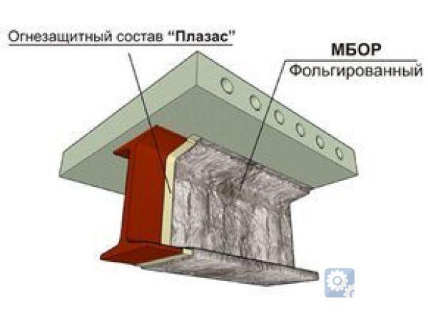 Огнезащита металлоконструкций, система ЕТ Профиль.