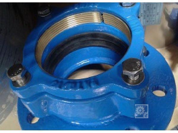 Фланцевый адаптер для ПЭ фланец фикси обжимной труб Idra UR-51 150-160