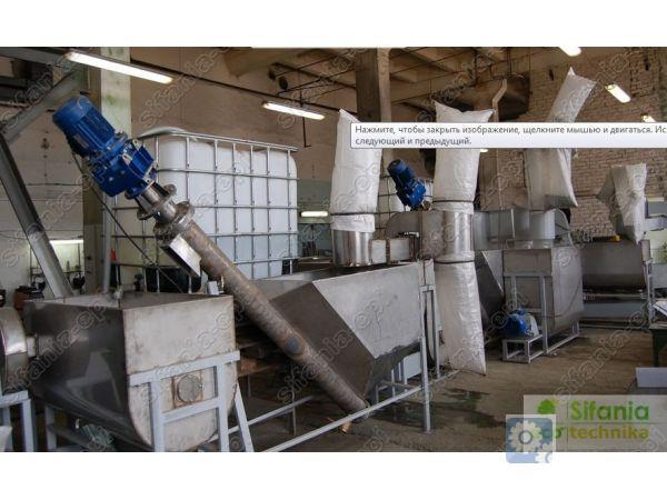 Линия по сортировке и переработке ПЭТ-бутылок