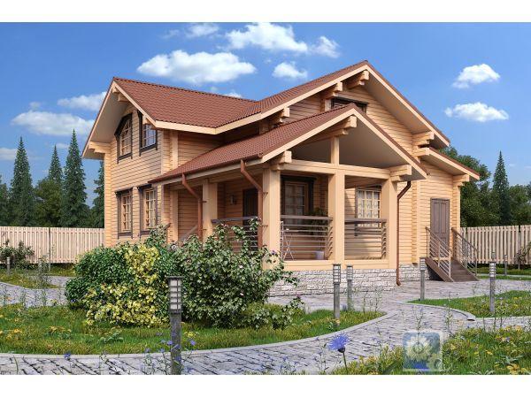 деревянные дома в москве под ключ