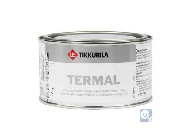ТЕРМАЛ (ТИККУРИЛА)силиконоалюминиевая краска для термостойких покрытий