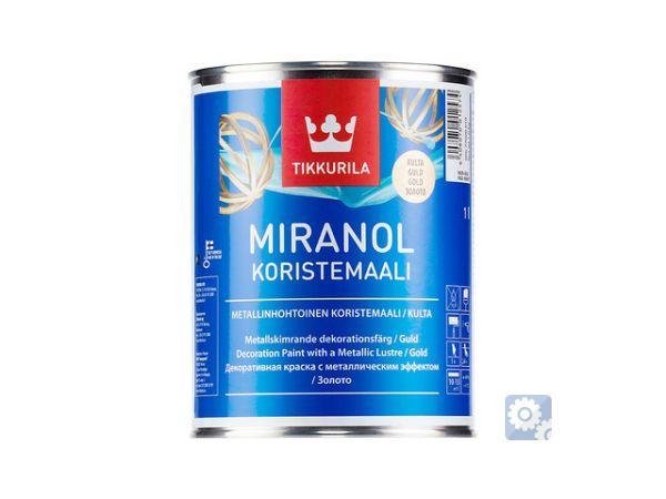 МИРАНОЛ (ТИККУРИЛА) -декоративная алкидная краска для внутренних работ